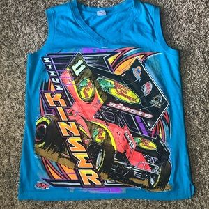 Steve Kinser World of Outlaws Woman's Tank Top